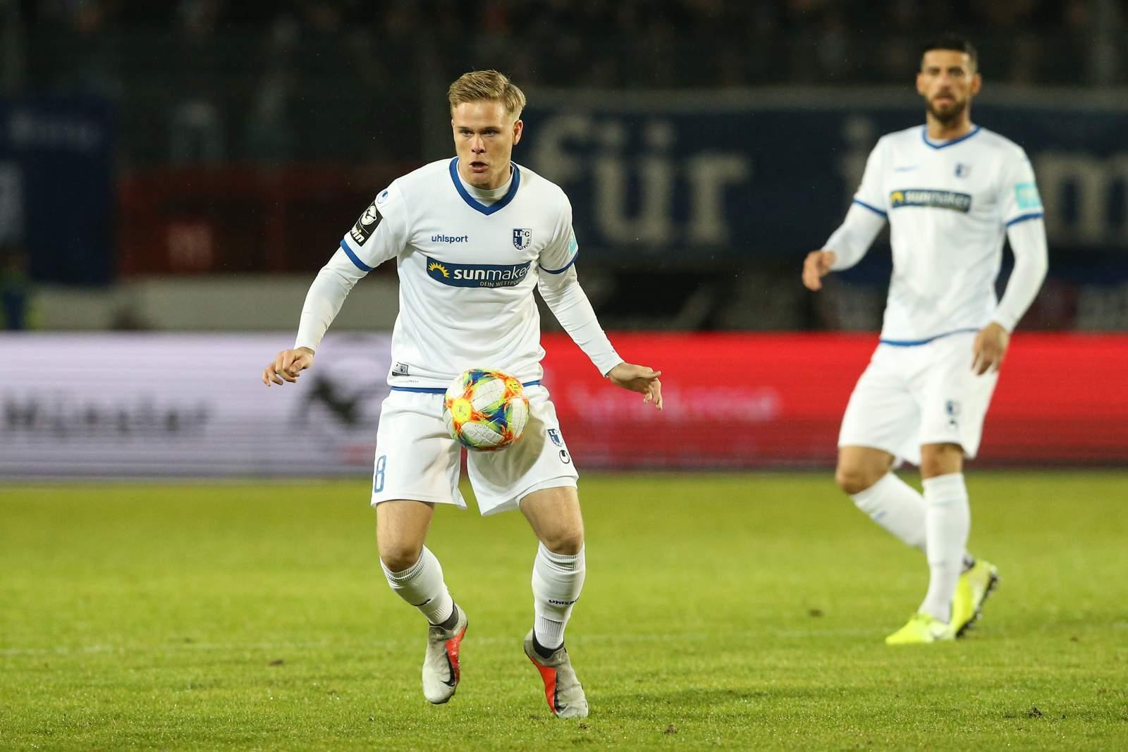 Thorne Jacobsen beim 1. FC Magdeburg