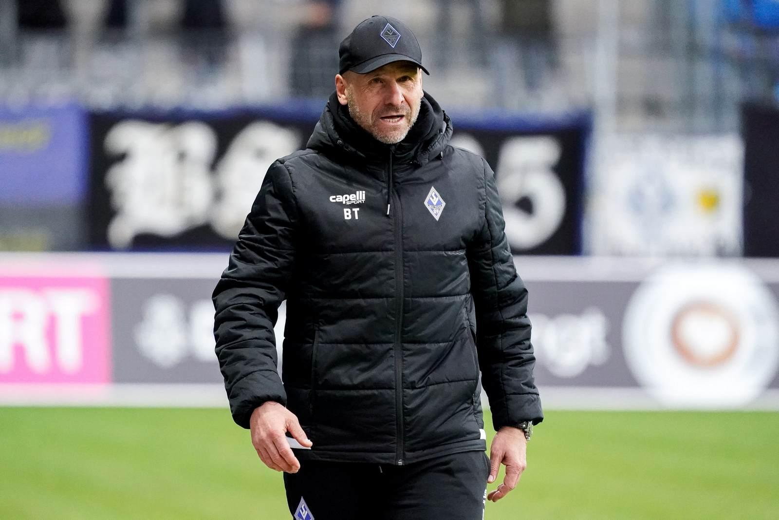 Bernhard Trares beim SV Waldhof Mannheim