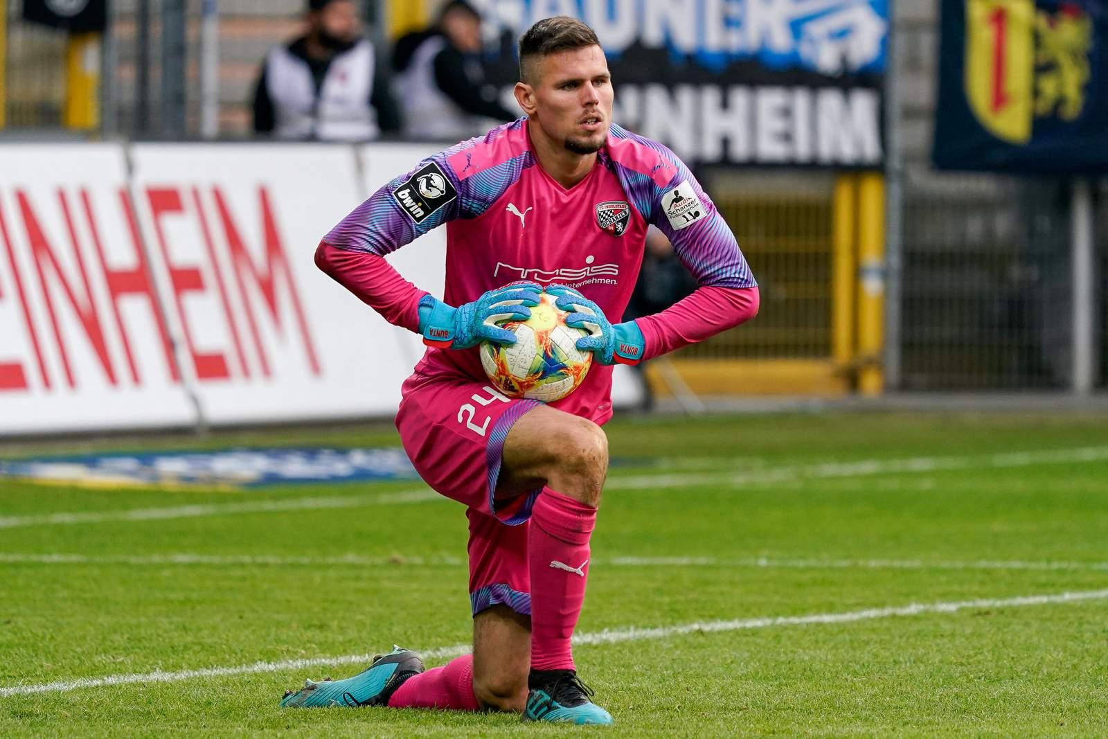 Fabijan Buntic im Spiel gegen Mannheim.