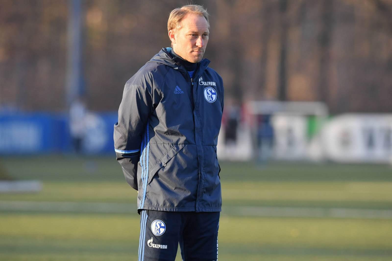 Jürgen Luginger beim FC Schalke 04