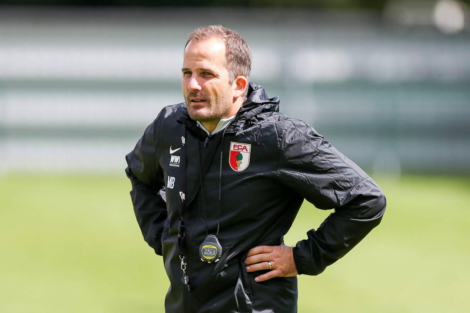 Manuel Baum als Trainer des FC Augsburg