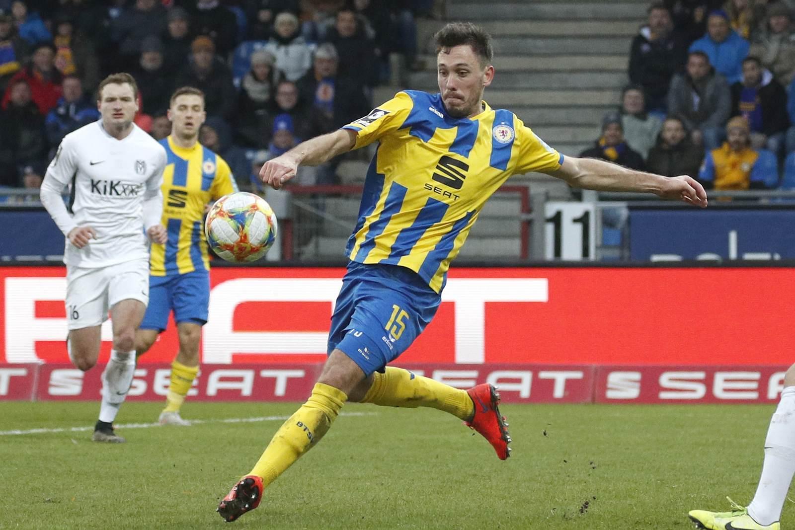 Marcel Bär von Eintracht Braunschweig