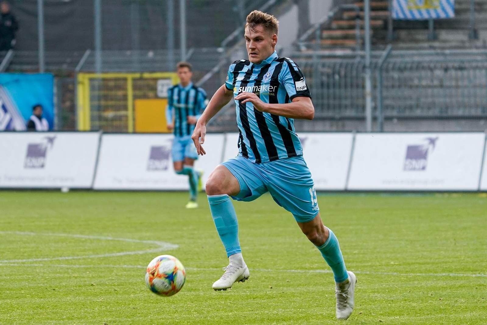 Max Christiansen gegen Ingolstadt.