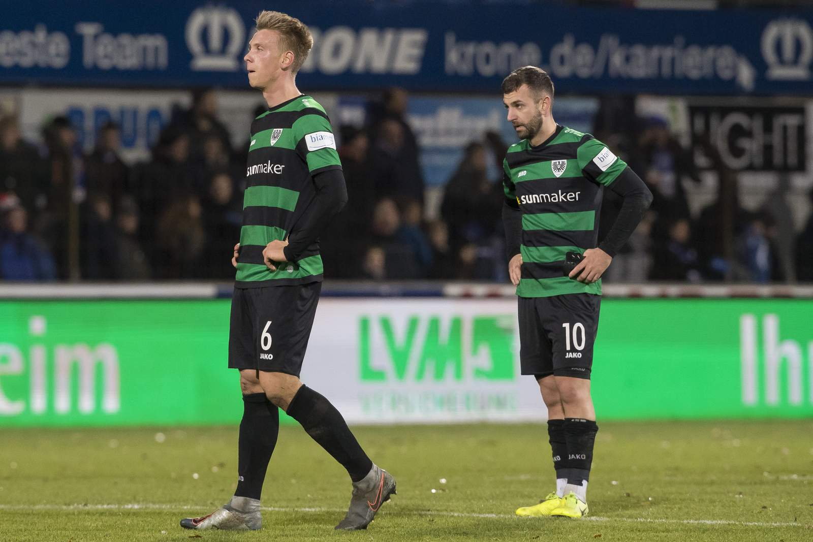 Nico Brandenburger (l.) und Kevin Rodrigues Pires.