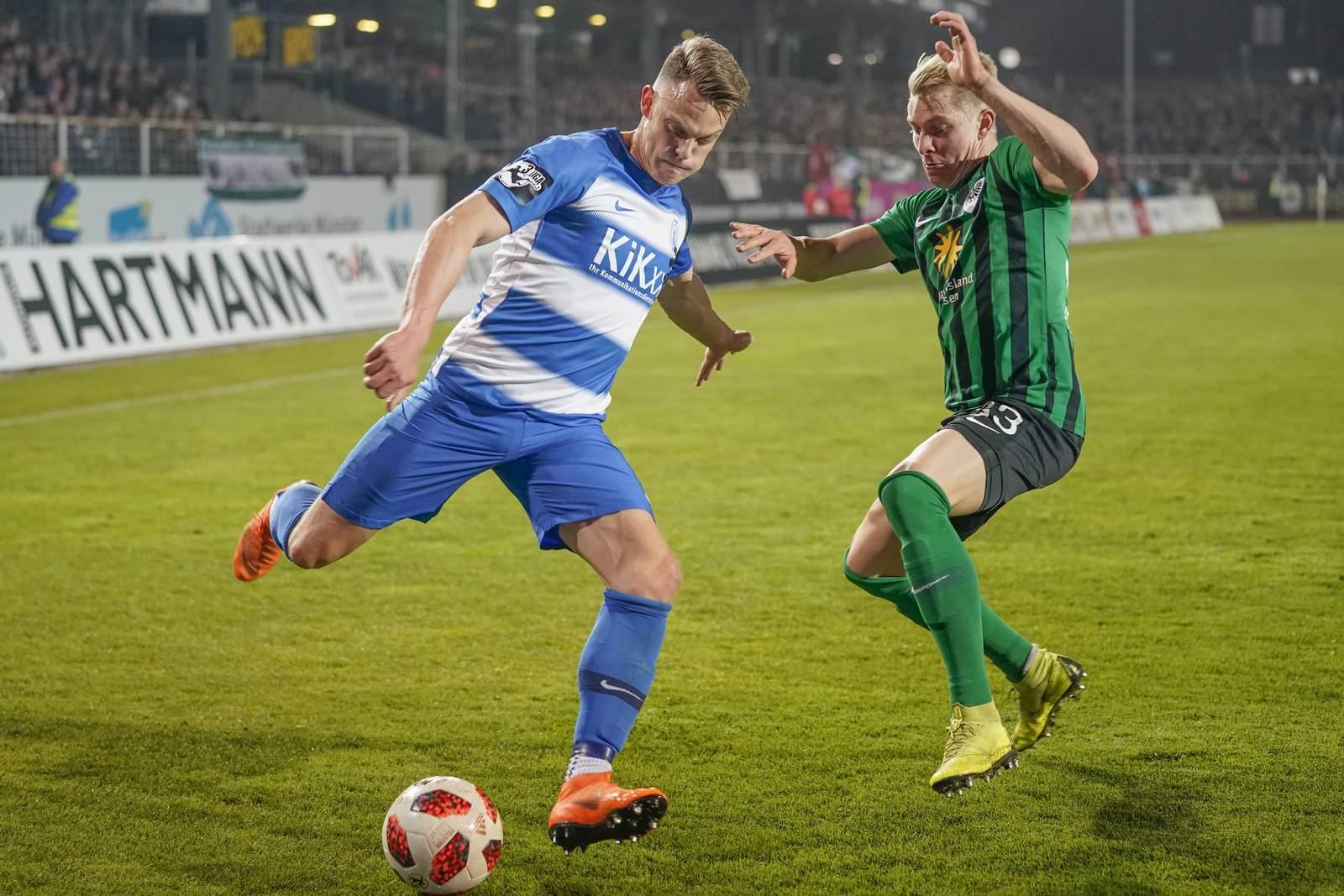 rene guder, niklas heidemann, sv meppen, preußen münster, 3. liga