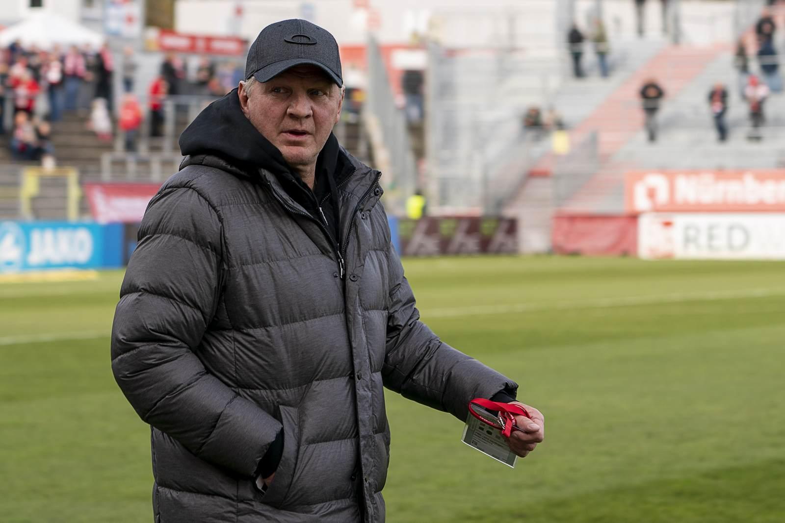 Stefan Effenberg beim KFC Uerdingen