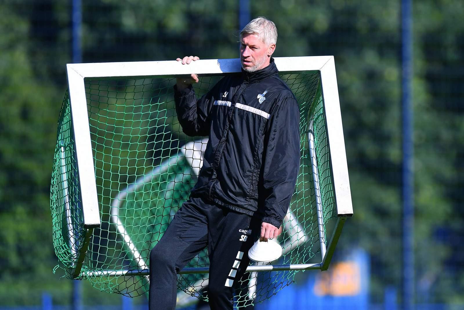 Sven Beuckert im MSV-Training.