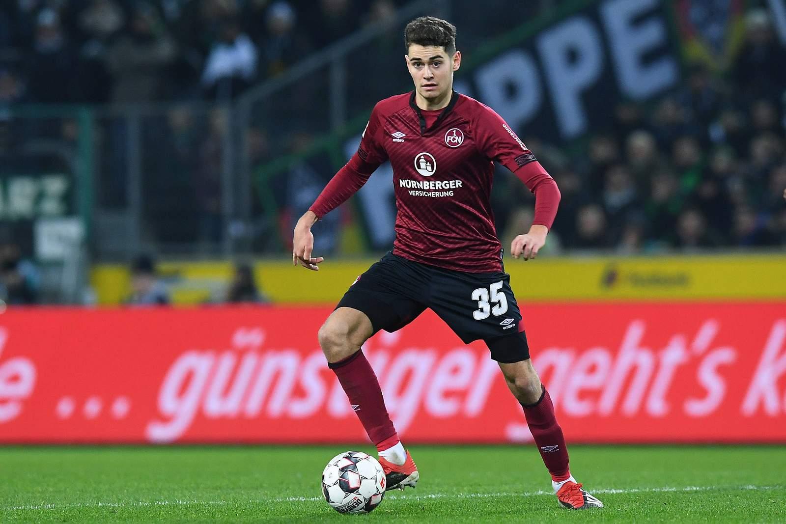 Alex Fuchs beim 1. FC Nürnberg