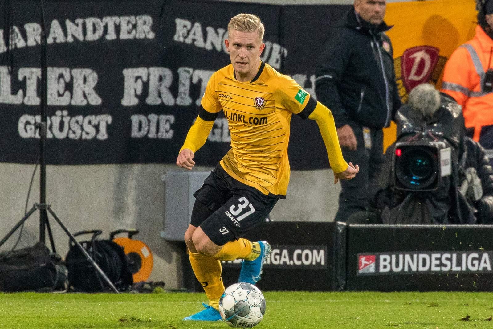 Luka Stor von Dynamo Dresden