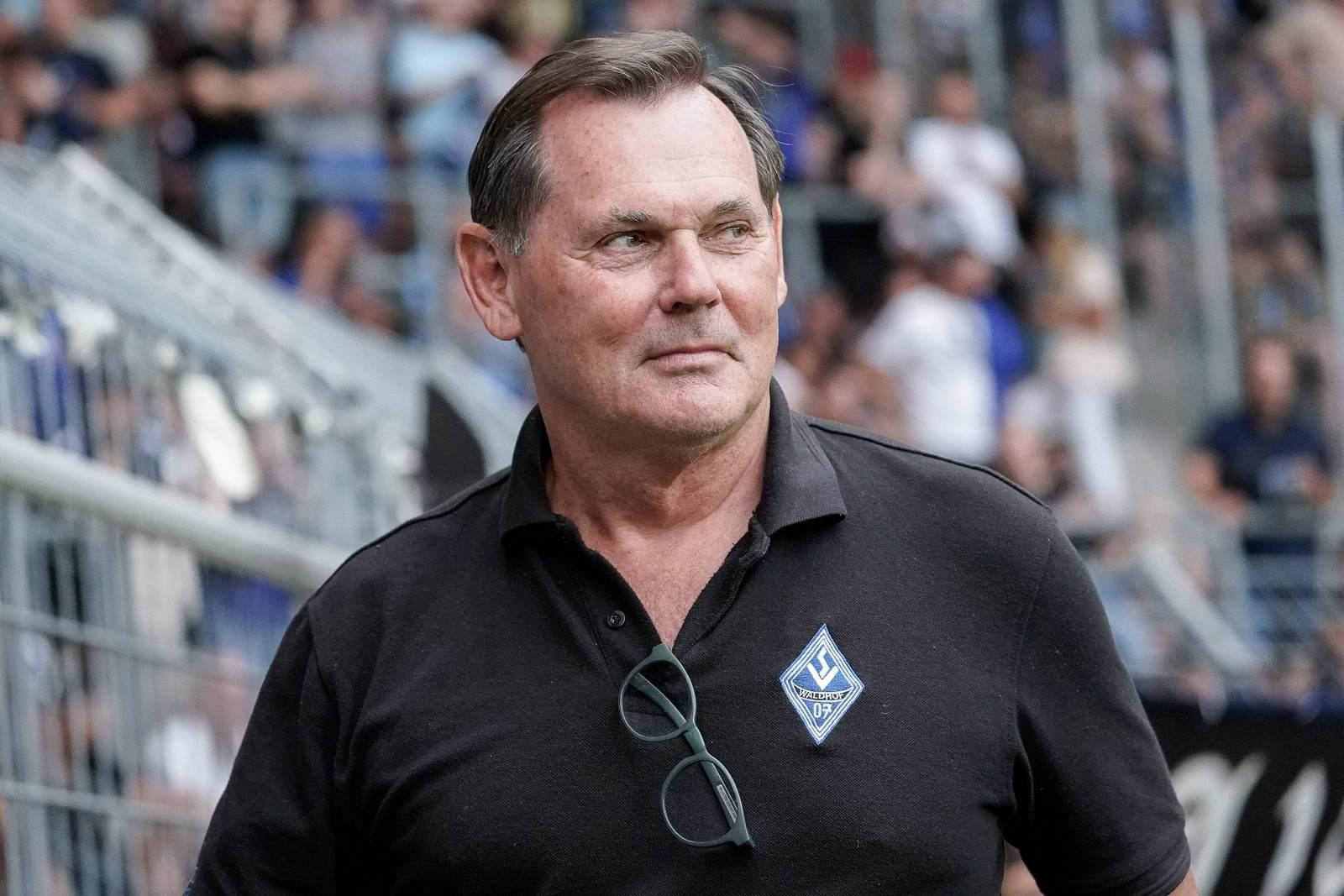 Bernd Beetz beim SV Waldhof Mannheim