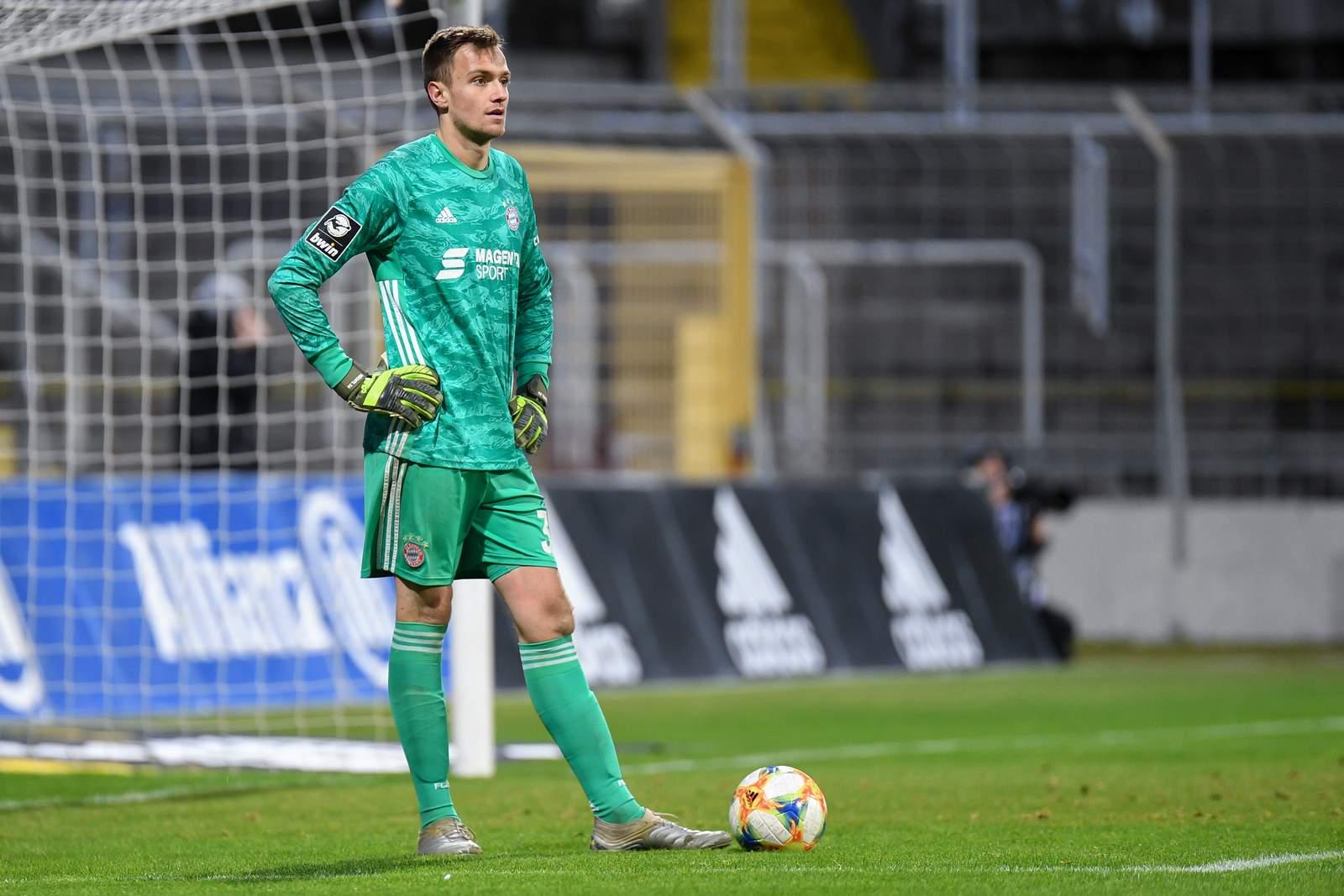 Christian Früchtl im FCB-Tor.