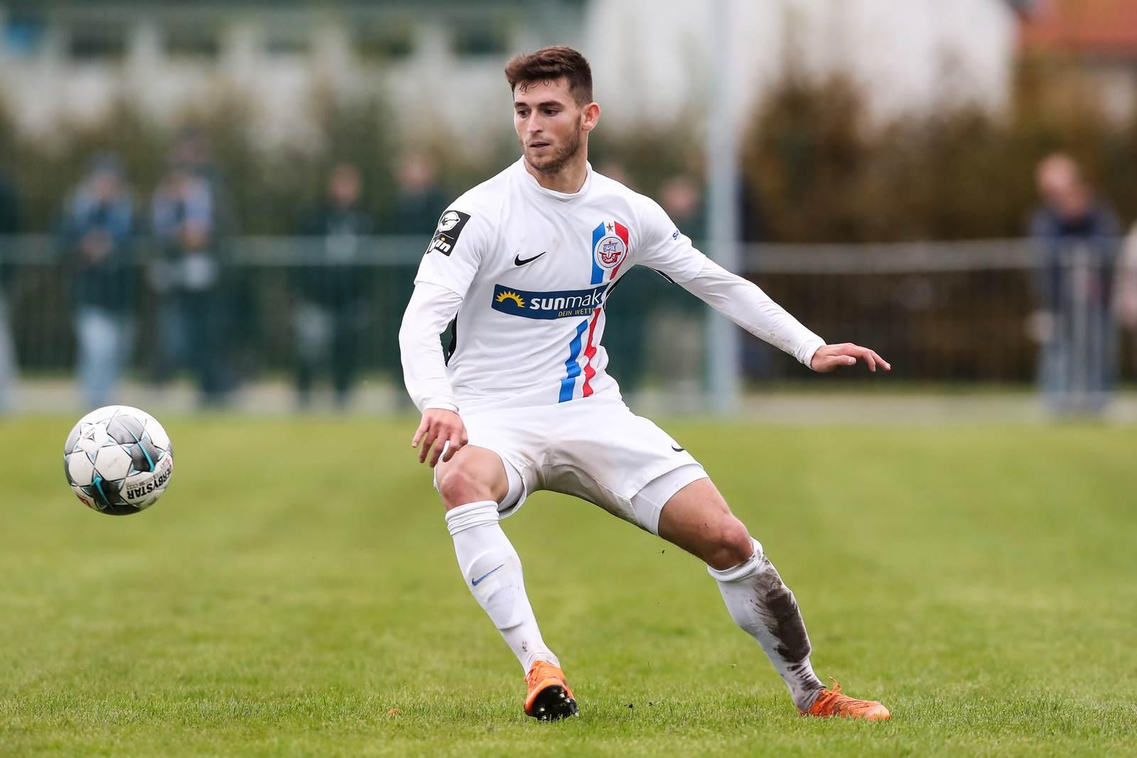 Elsamed Ramaj beim FC Hansa Rostock