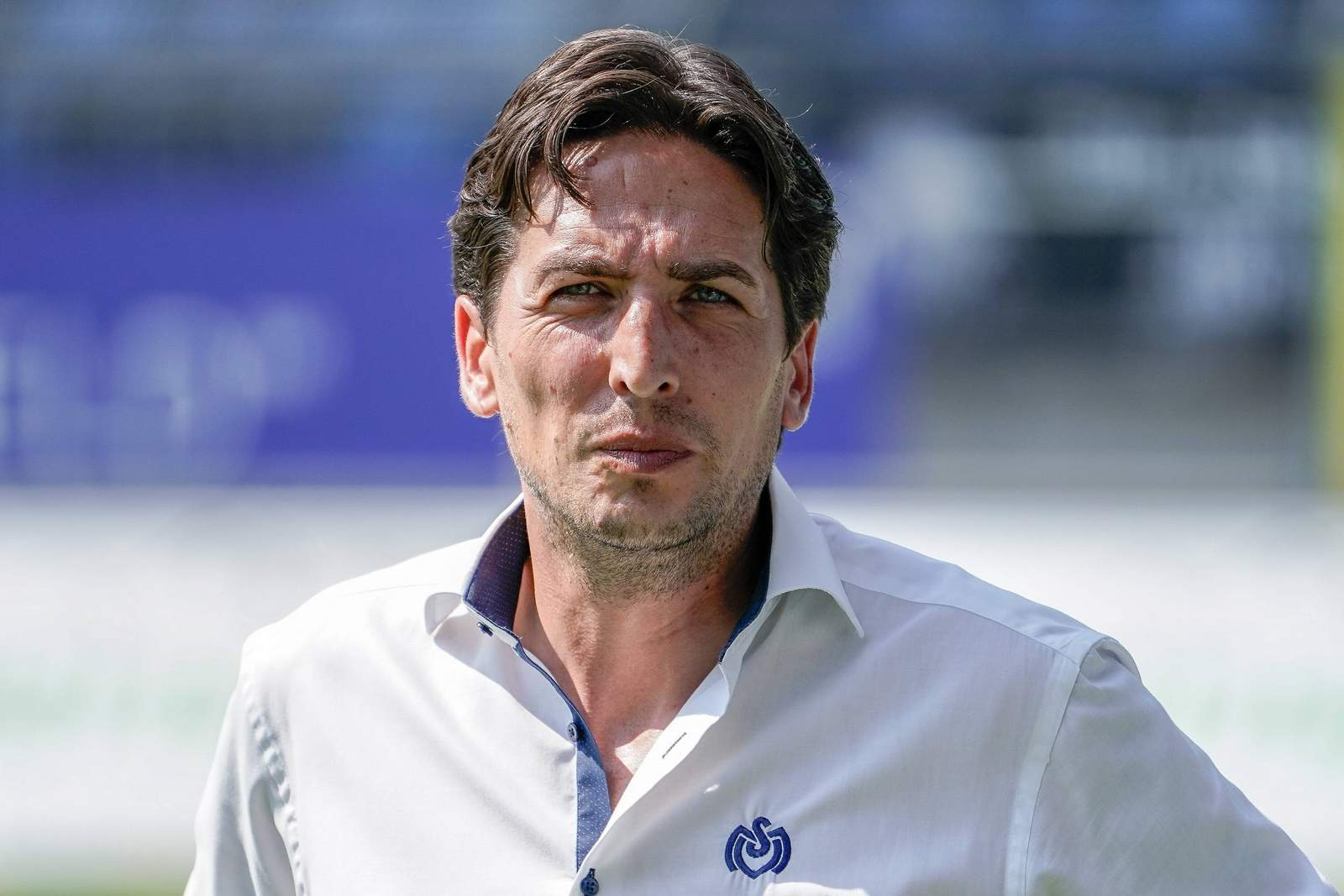 Ivo Grlic vor dem Spiel des MSV gegen Mannheim.