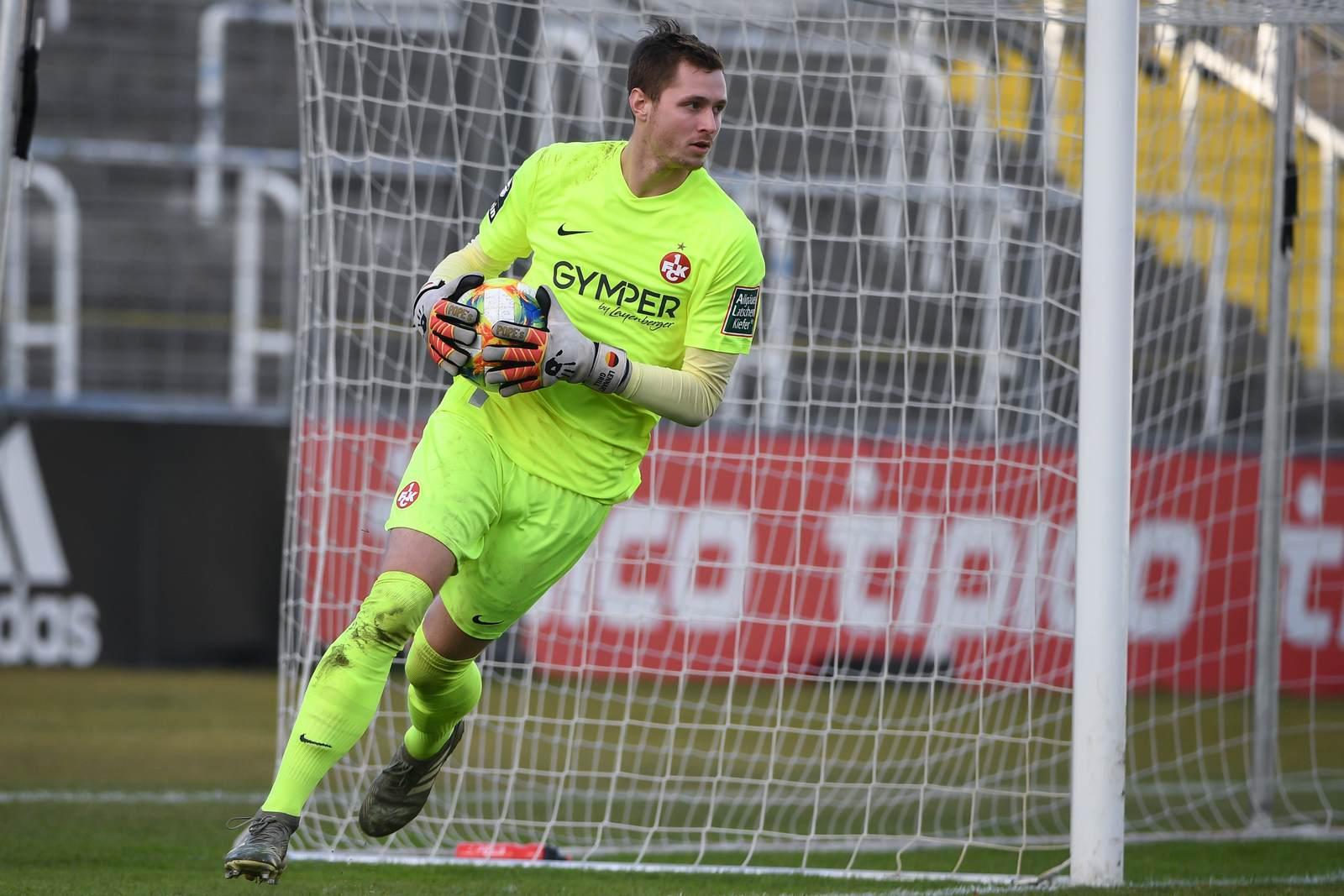 Lennart Grill beim 1. FC Kaiserslautern