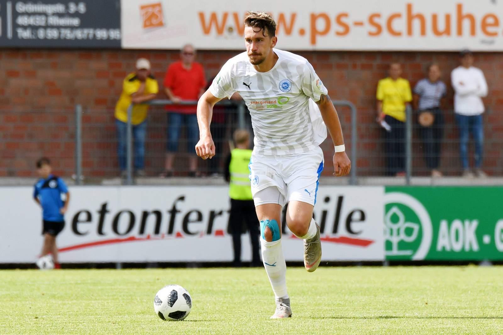 Matthias Rahn im SFL-Dress.