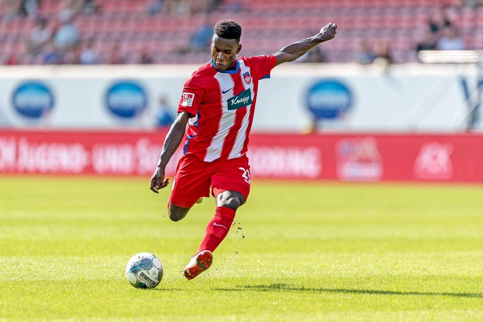 Merveille Biankadi beim 1. FC Heidenheim
