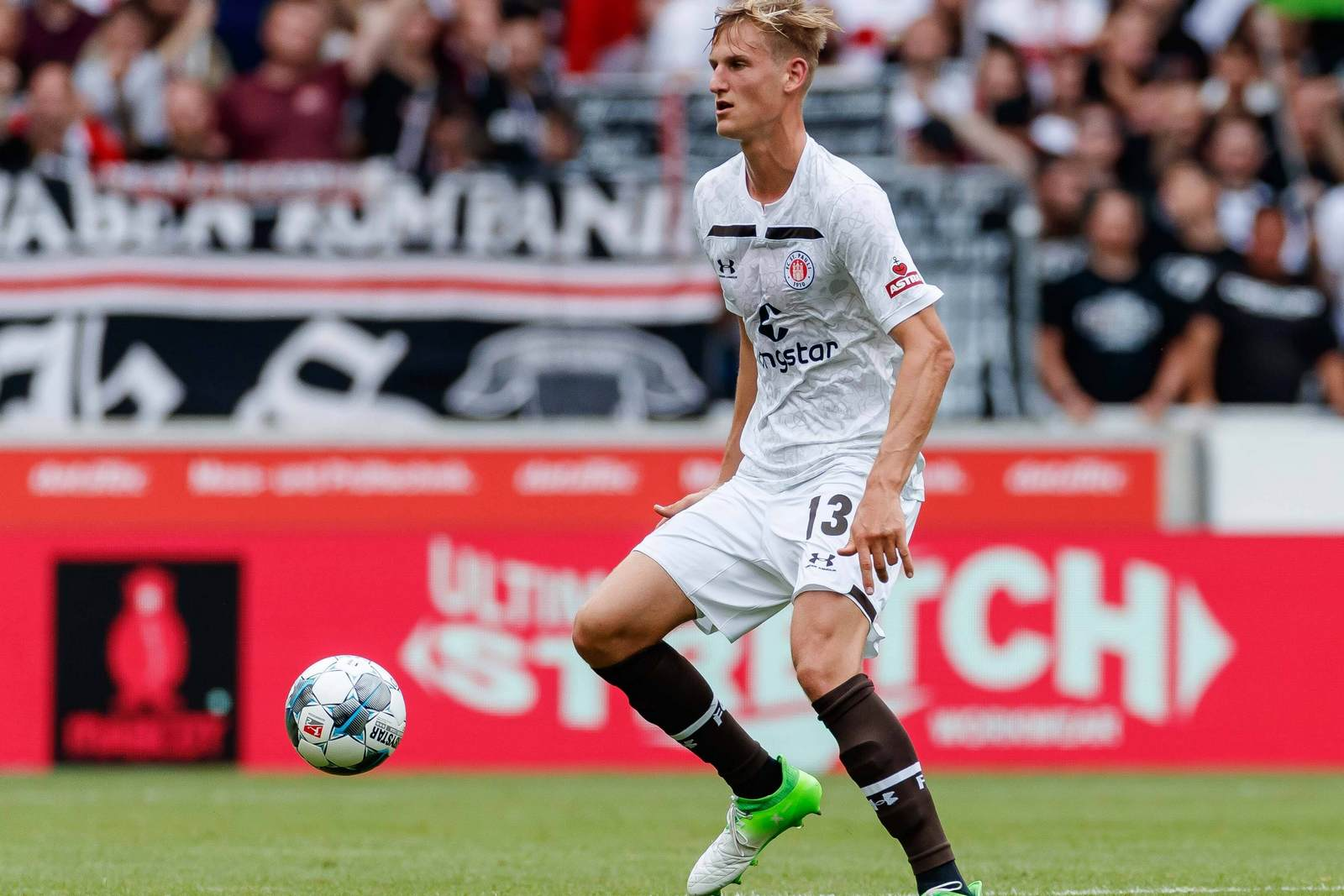 Niklas Hoffmann beim FC St. Pauli