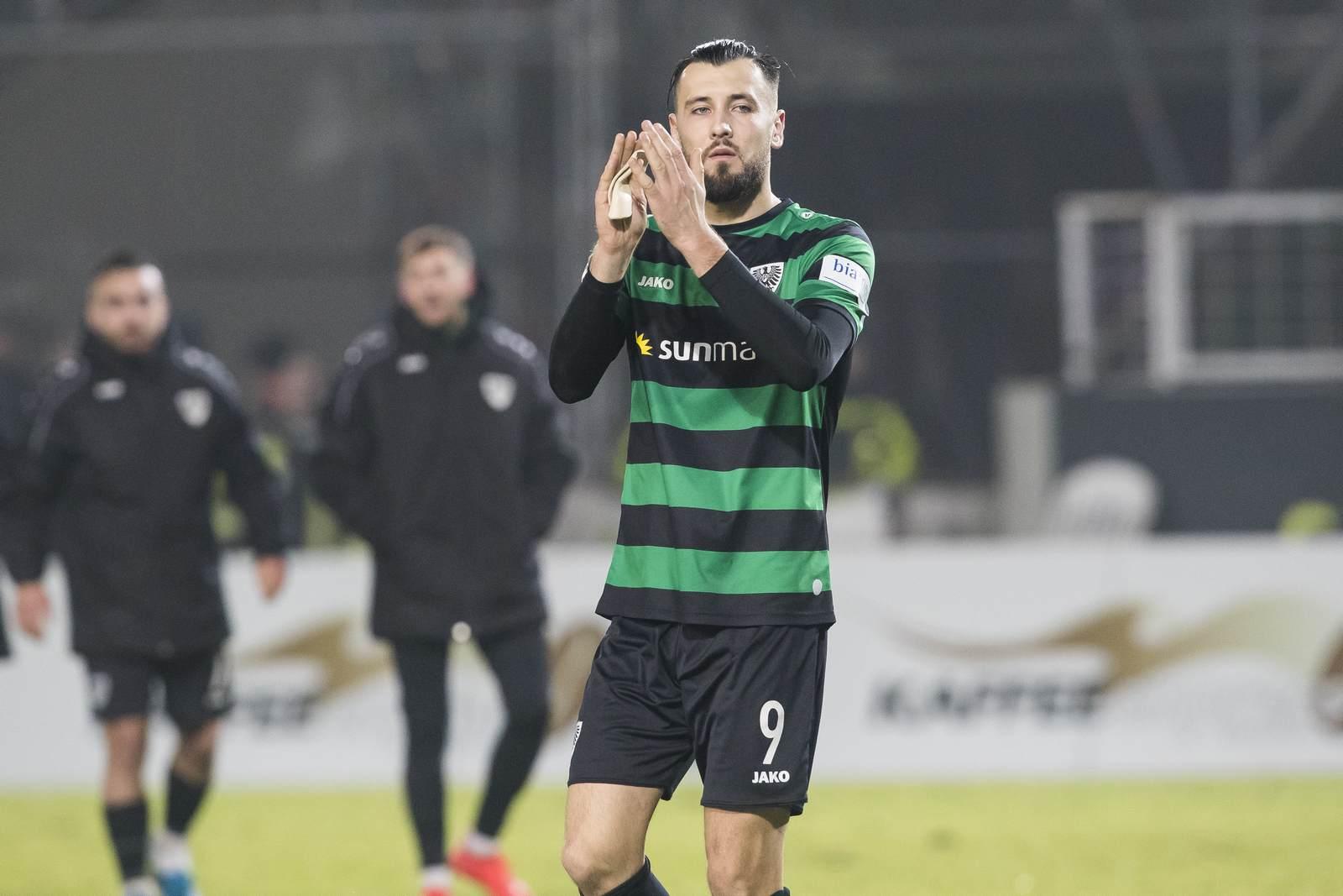 Rufat Dadashov beim SC Preußen Münster