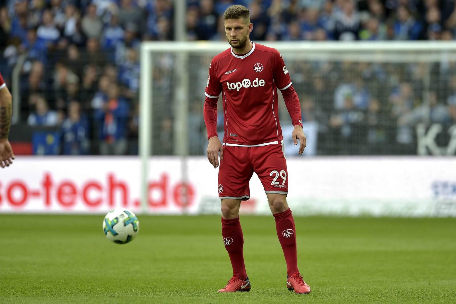 Stipe Vucur am Ball für den 1. FC Kaiserslautern