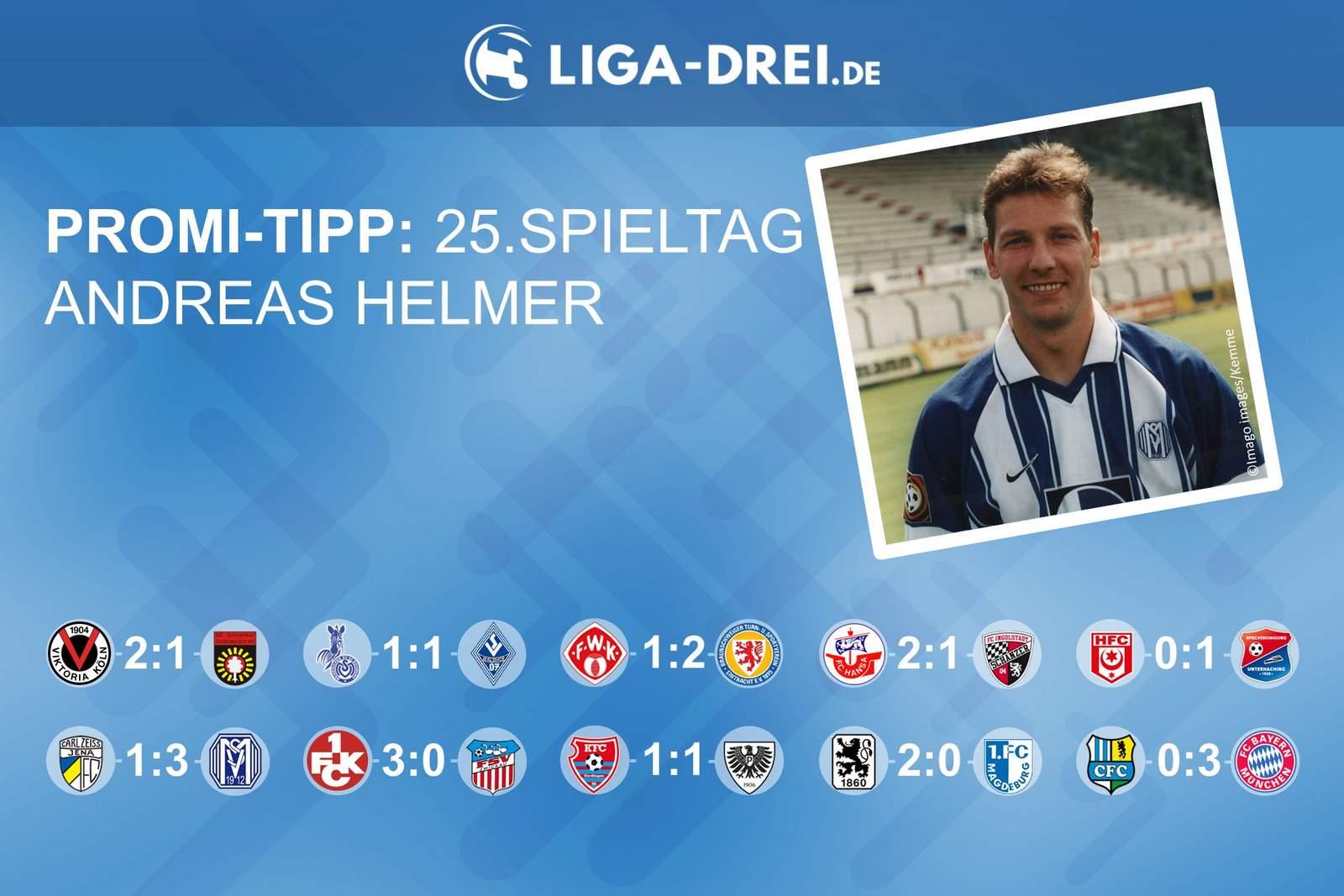 Andreas Helmer beim Promi-Tipp