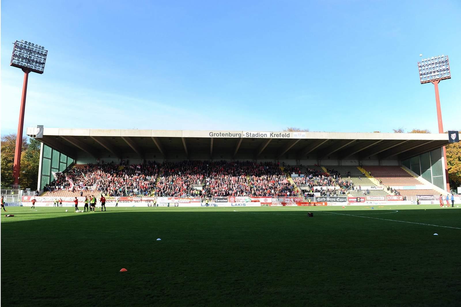 Grotenburg Stadion in Krefeld