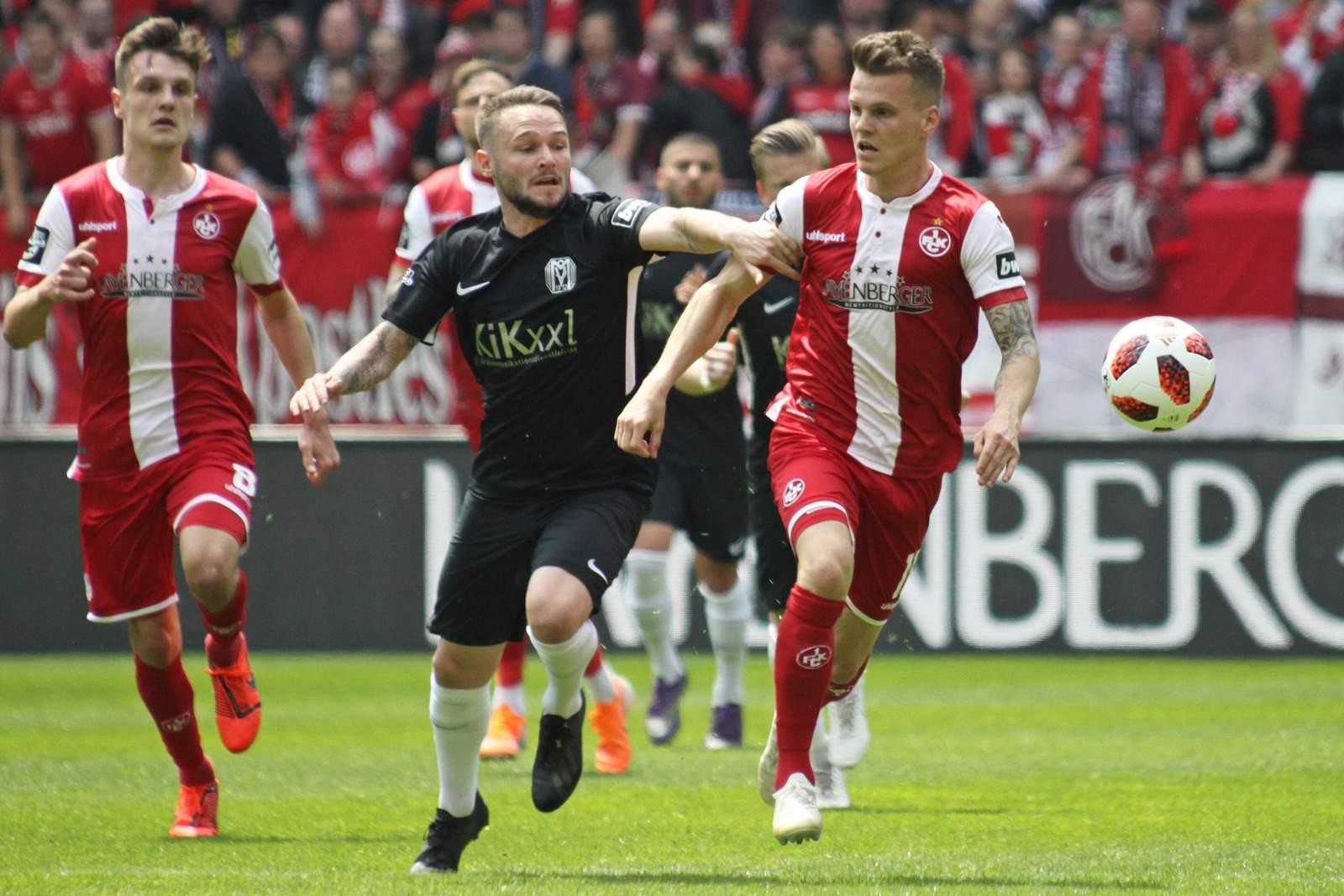 Marius Kleinsorge gegen Florian Pick.
