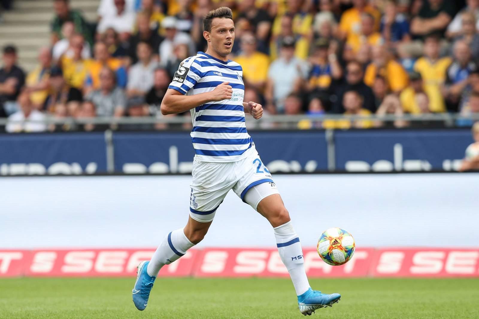 Petar Sliskovic vom MSV Duisburg