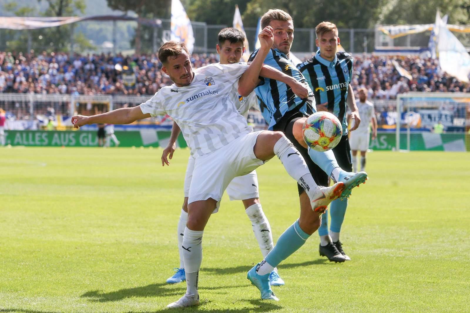 Daniele Gabriele beim FC Carl Zeiss Jena
