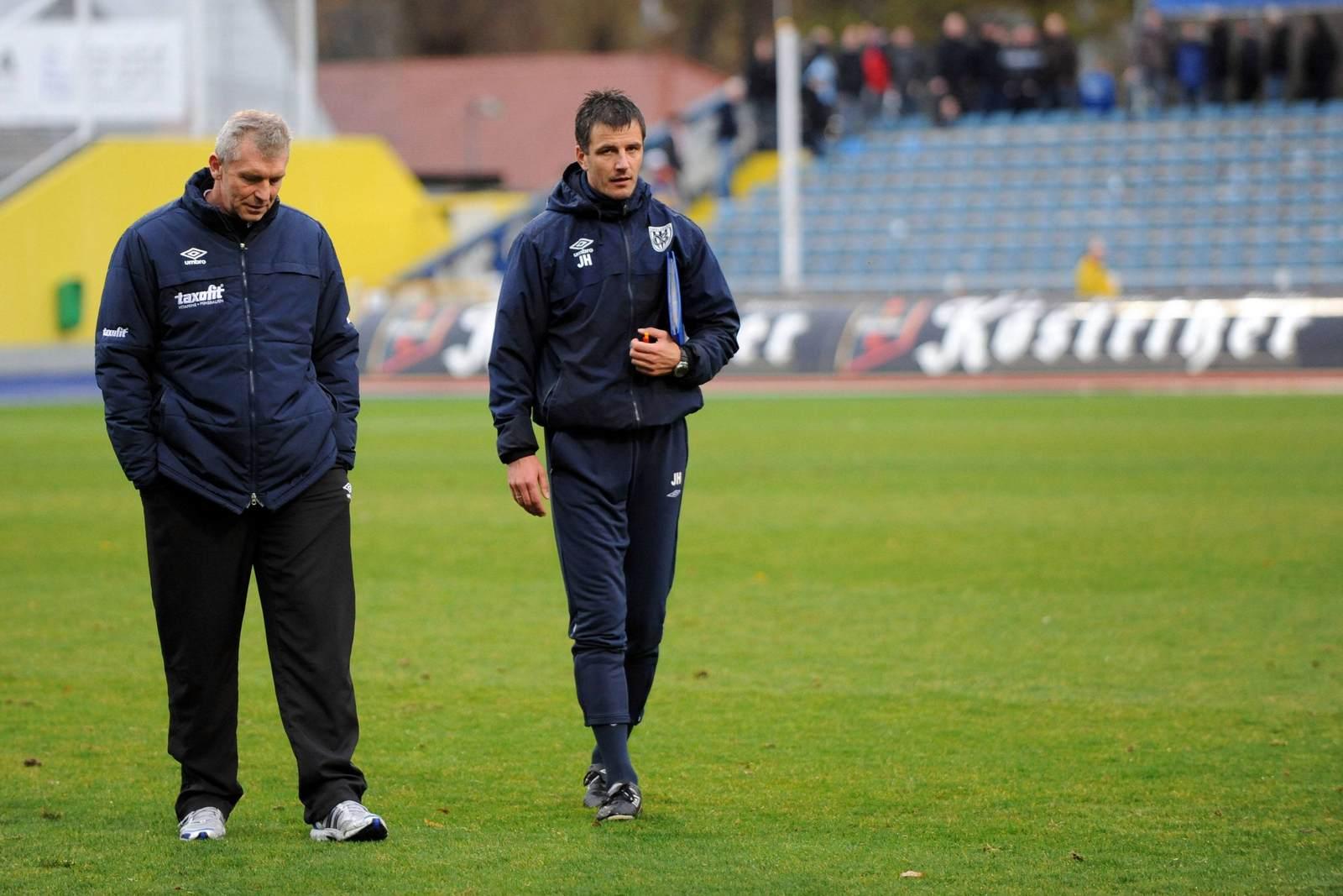 Dietmar Demuth und Jens Härtel beim SV Babelsberg 03