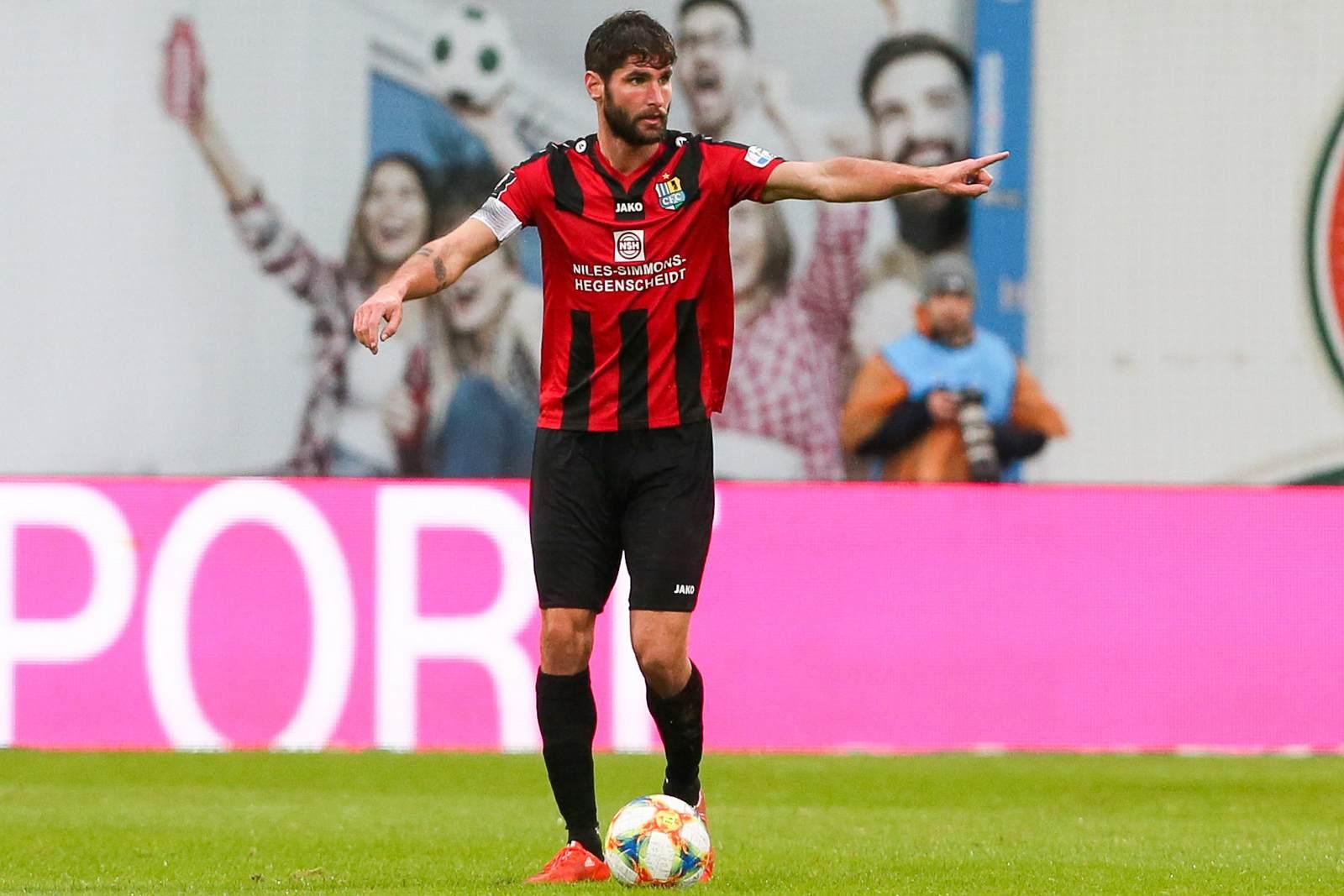 Niklas Hoheneder beim Chemnitzer FC