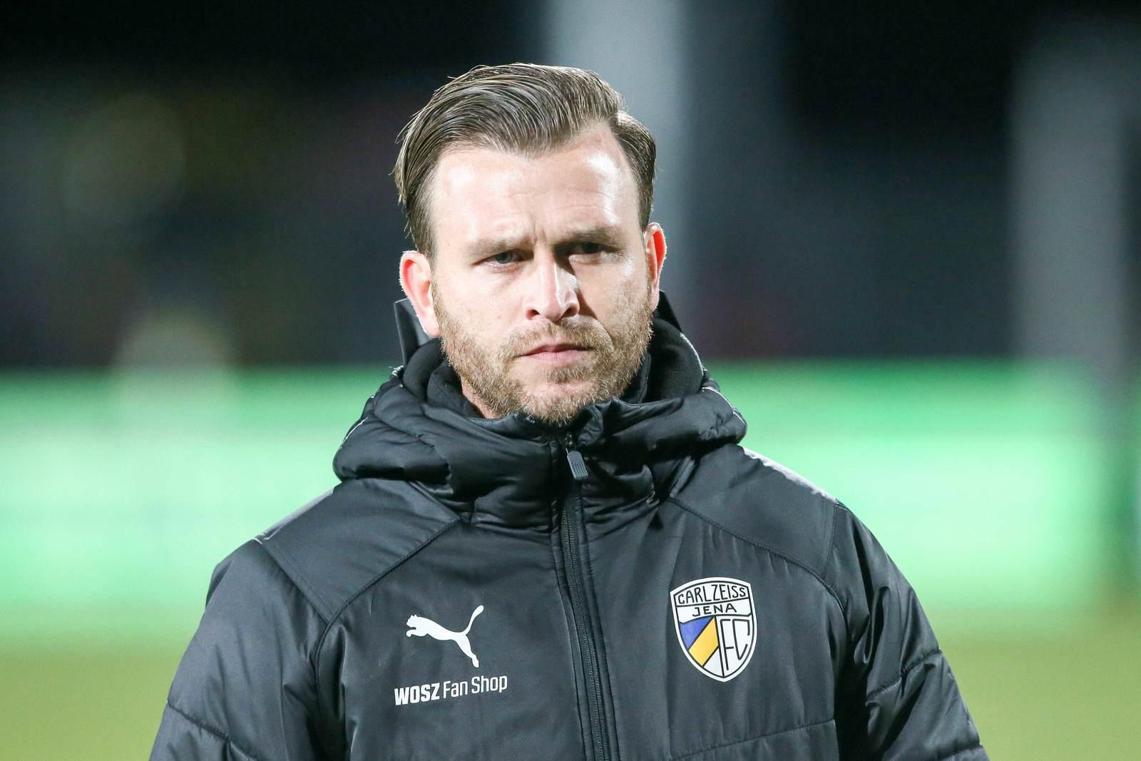 René Klingbeil beim FC Carl Zeiss Jena