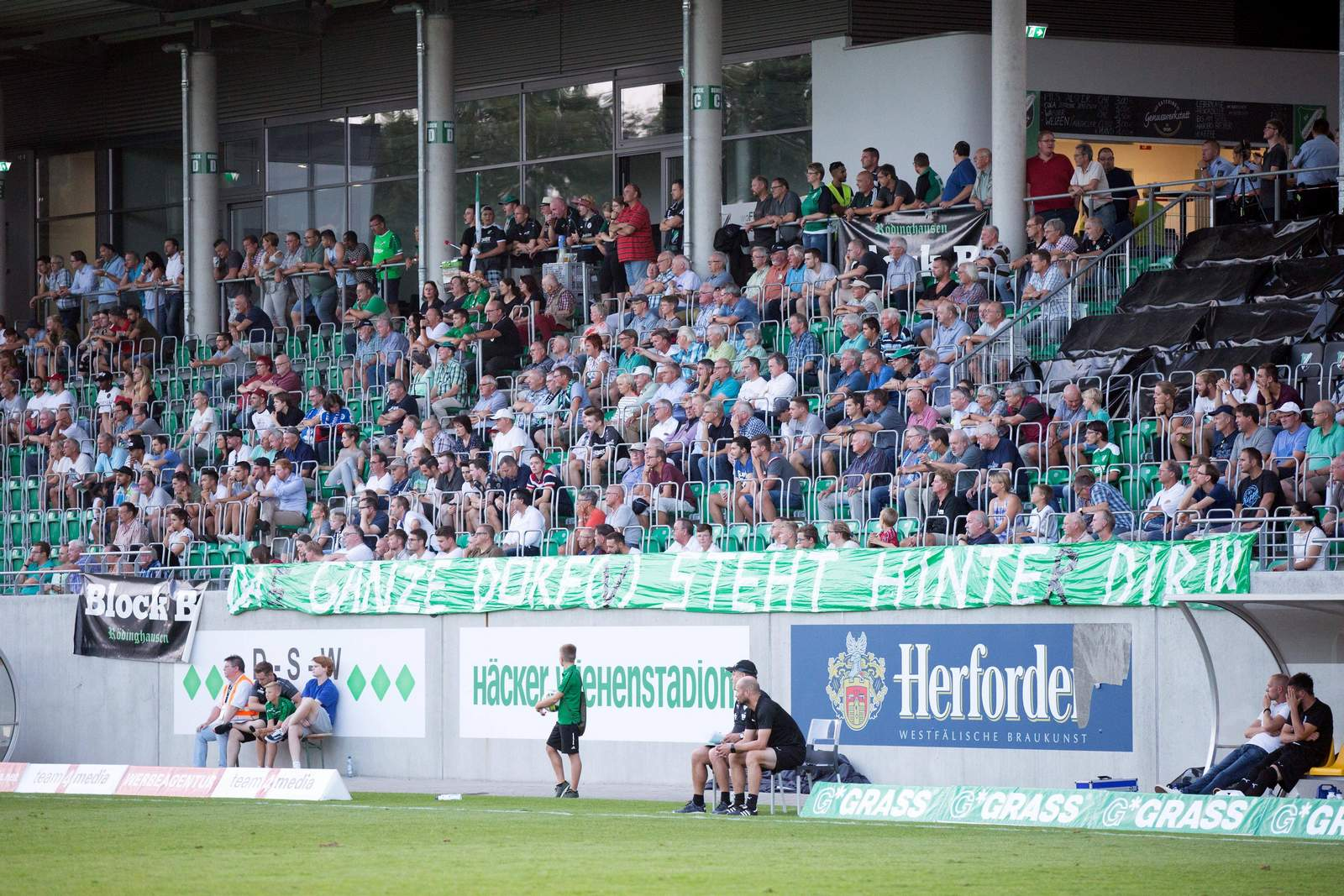 Stadion des SV Rödinghausen