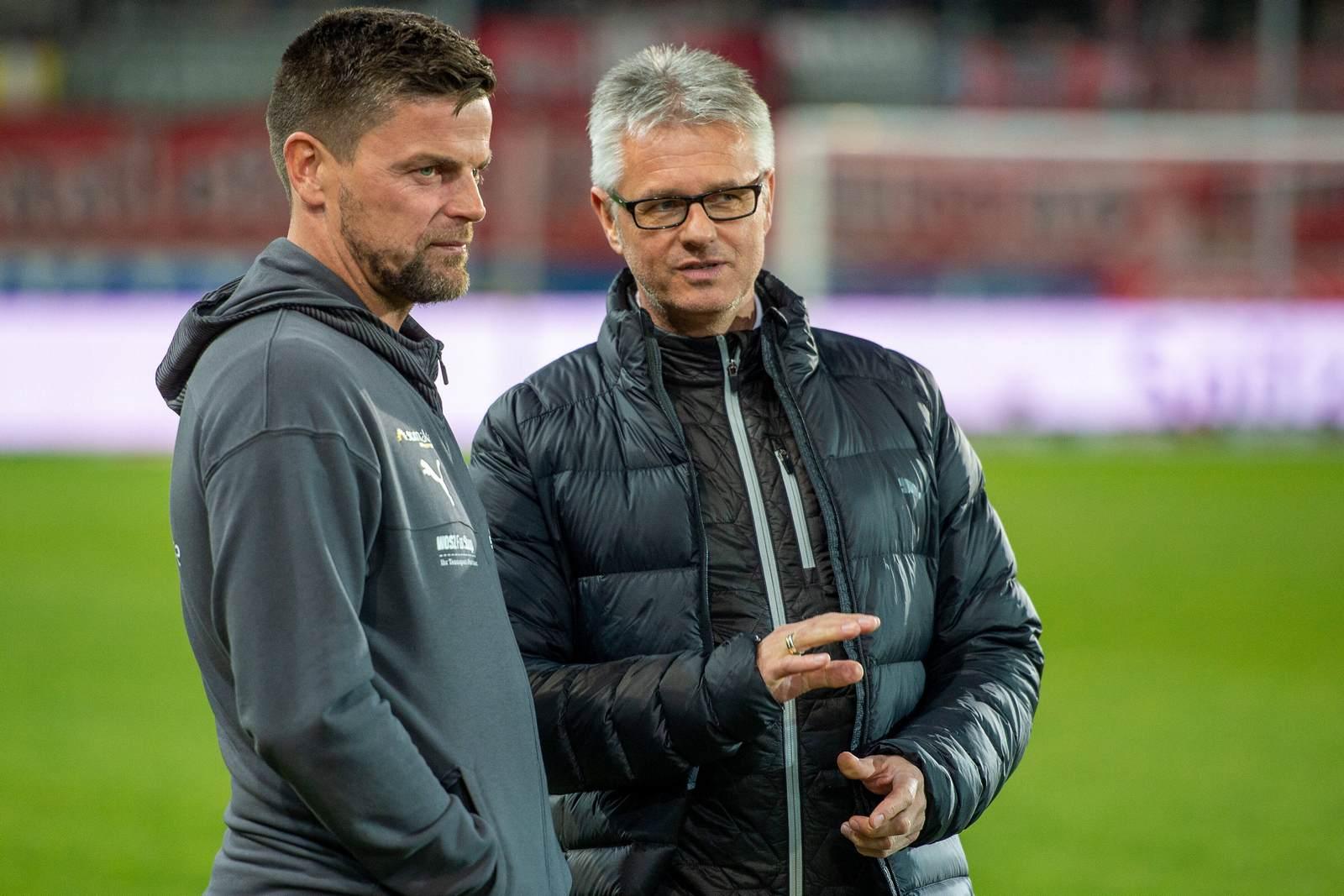 Torsten Ziegner mit Ralf Heskamp