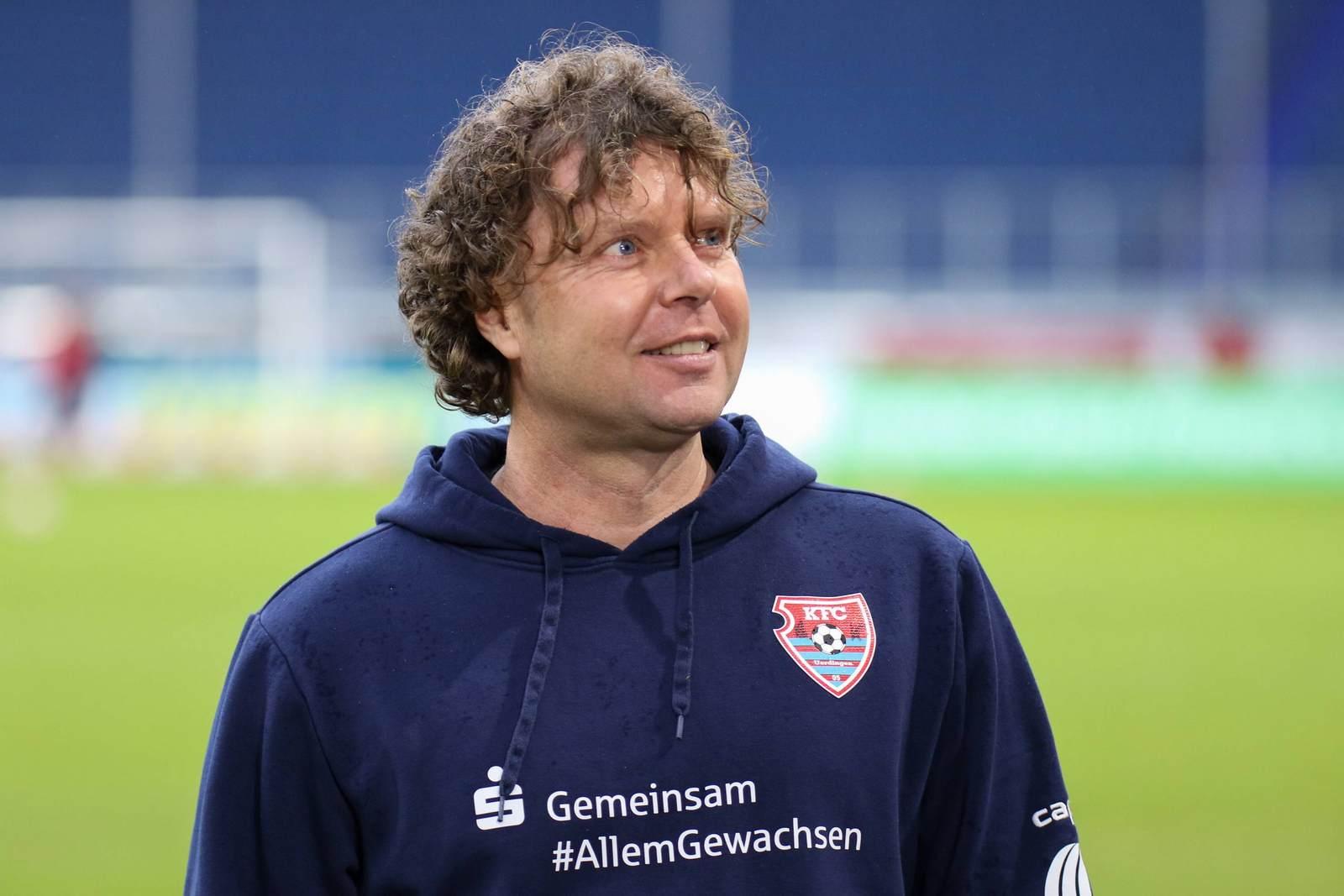 Stefan Krämer beim KFC Uerdingen