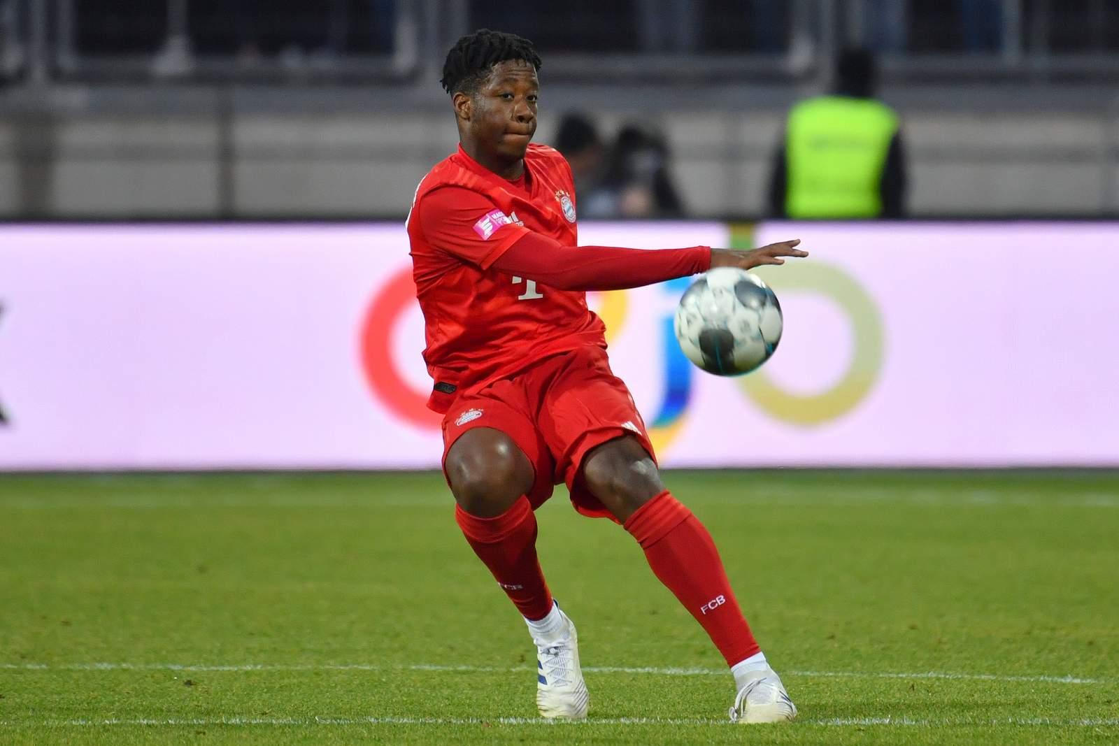 Bright Arrey-Mbi vom FC Bayern