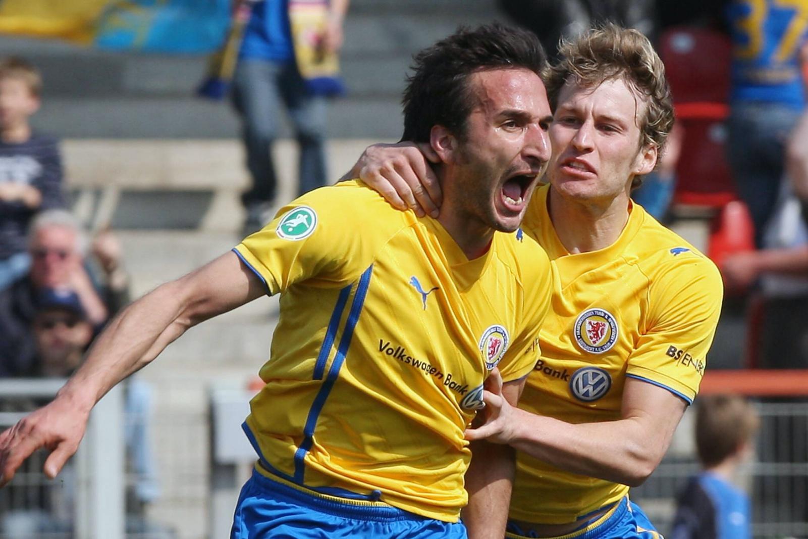 Deniz Dogan und Marc Pfitzner bei Eintracht Braunschweig