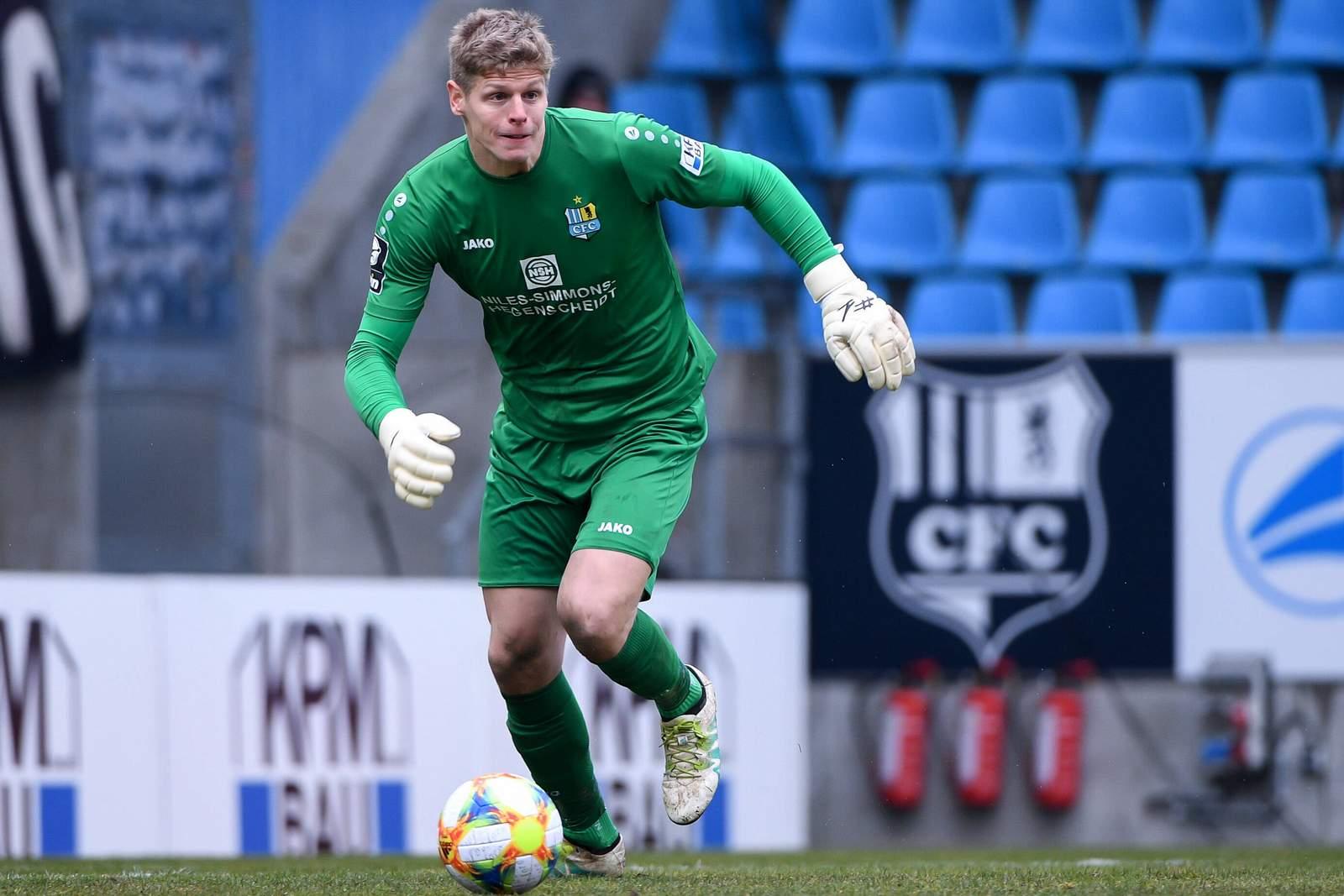 Jakub Jakubov im Spiel gegen Unterhaching.