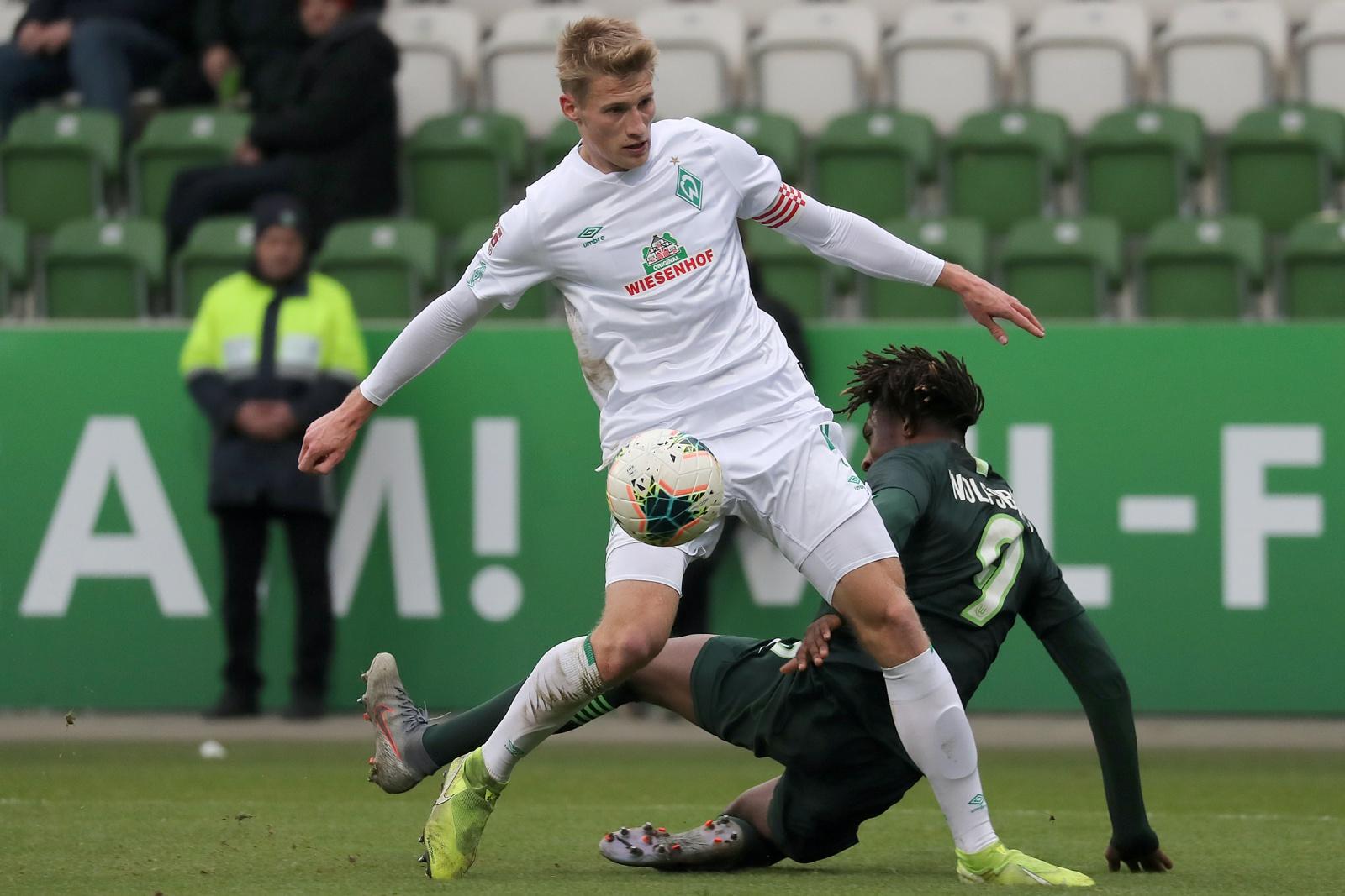 Malte Karbstein beim SV Werder II