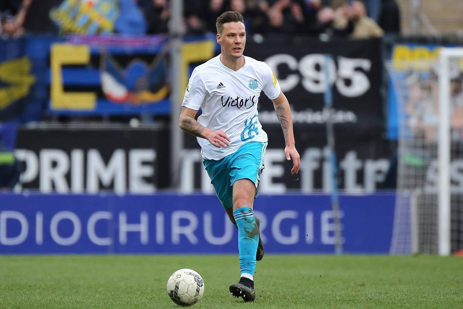 Christopher Schorch vom 1. FC Saarbrücken