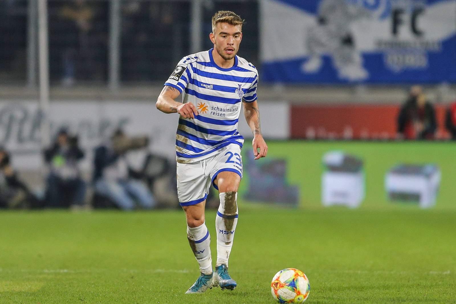 Joshua Bitter vom MSV Duisburg