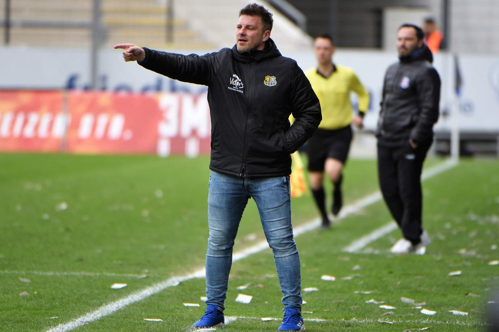Lukas Kwasniok beim 1. FC Saarbrücken