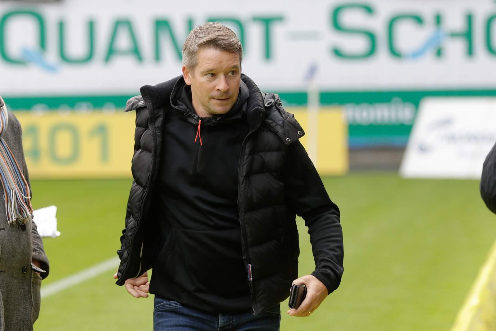 Geschäftsführer Ronald Maul vom SV Meppen