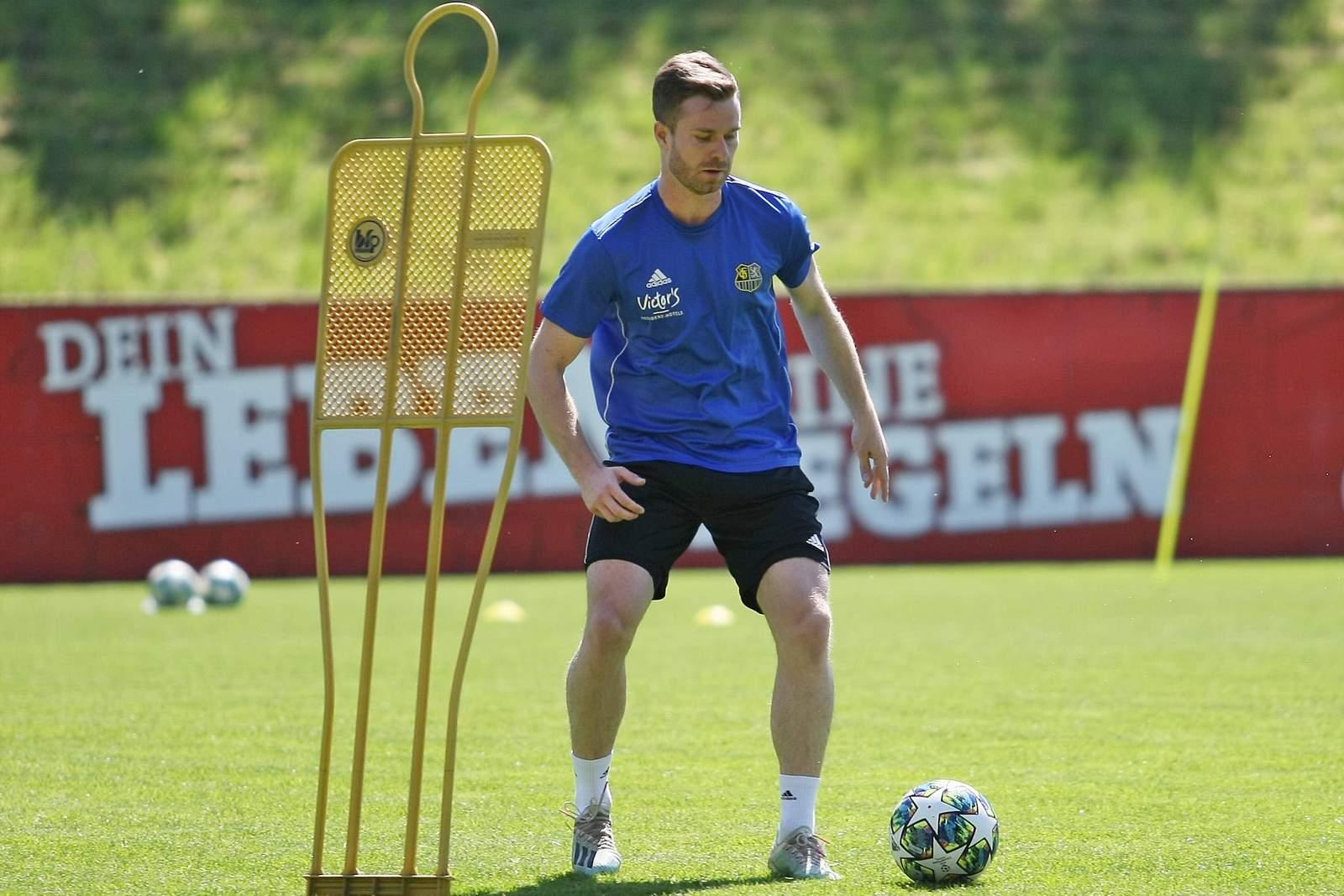 Sebastian Jacob vom 1. FC Saarbrücken