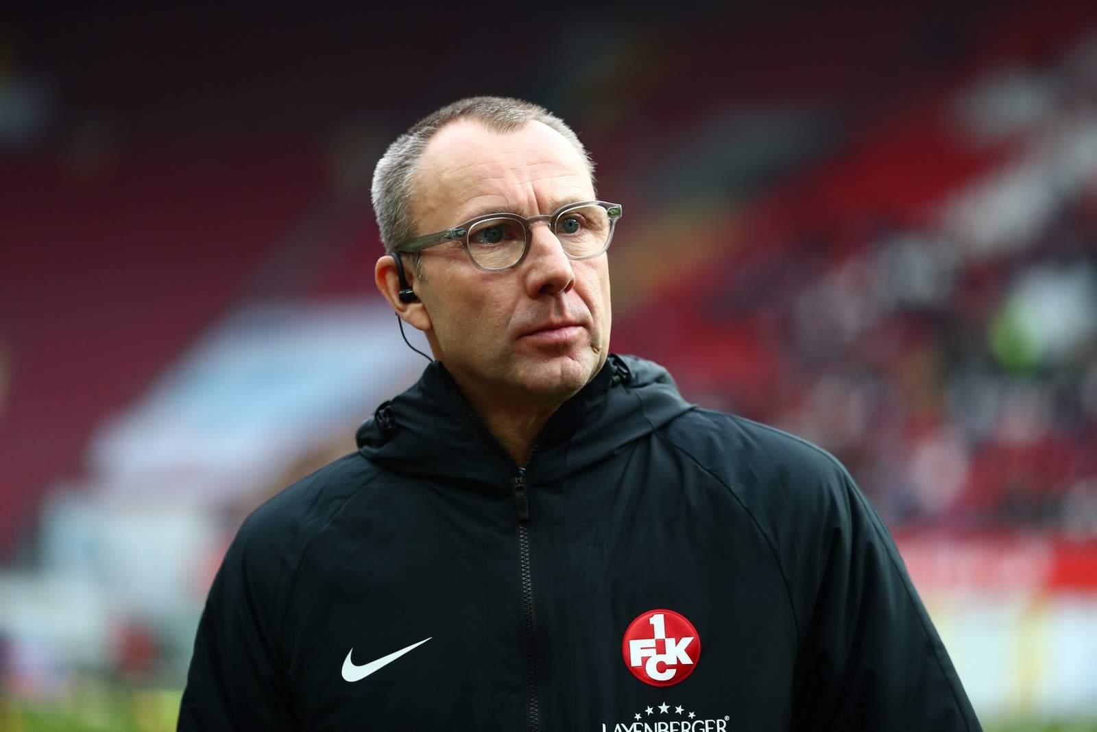 FCK-Geschäftsführer Soeren Oliver Voigt.