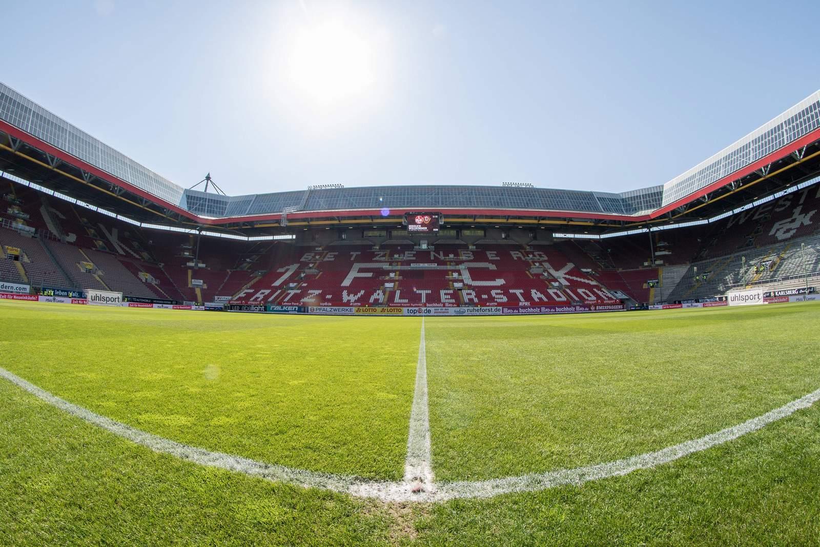 Der Betzenberg, das Stadion des 1. FC Kaiserslautern