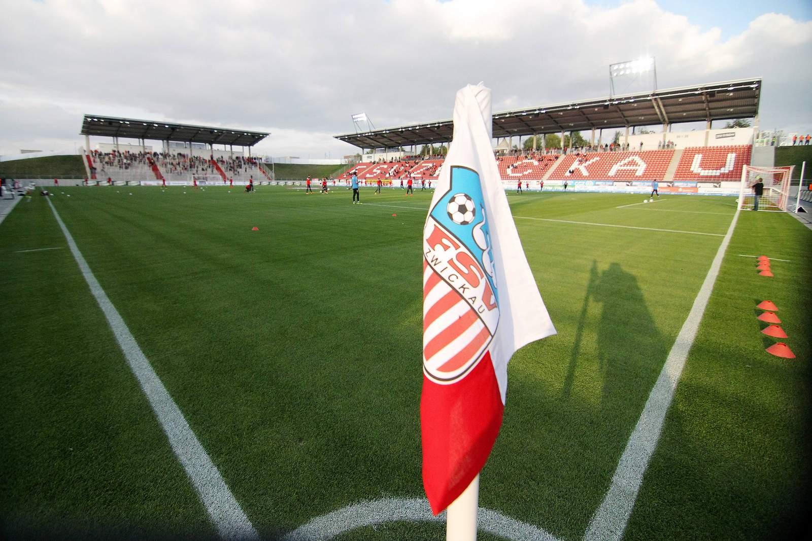 Stadion in Zwickau