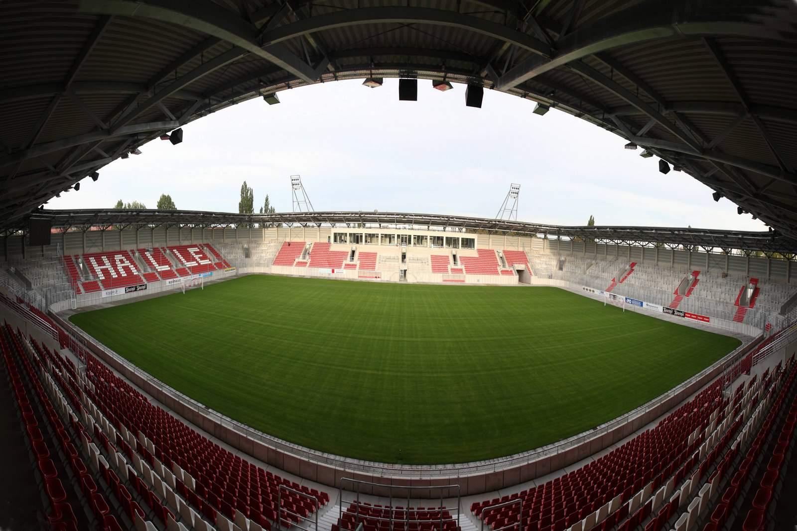 Das Stadion des HFC