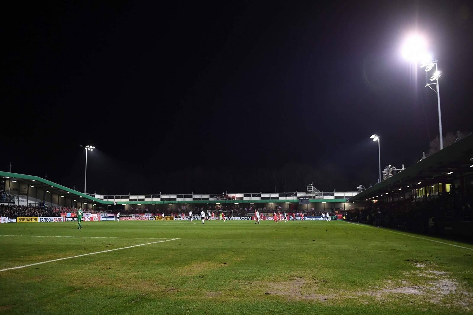Stadion des SC Verl