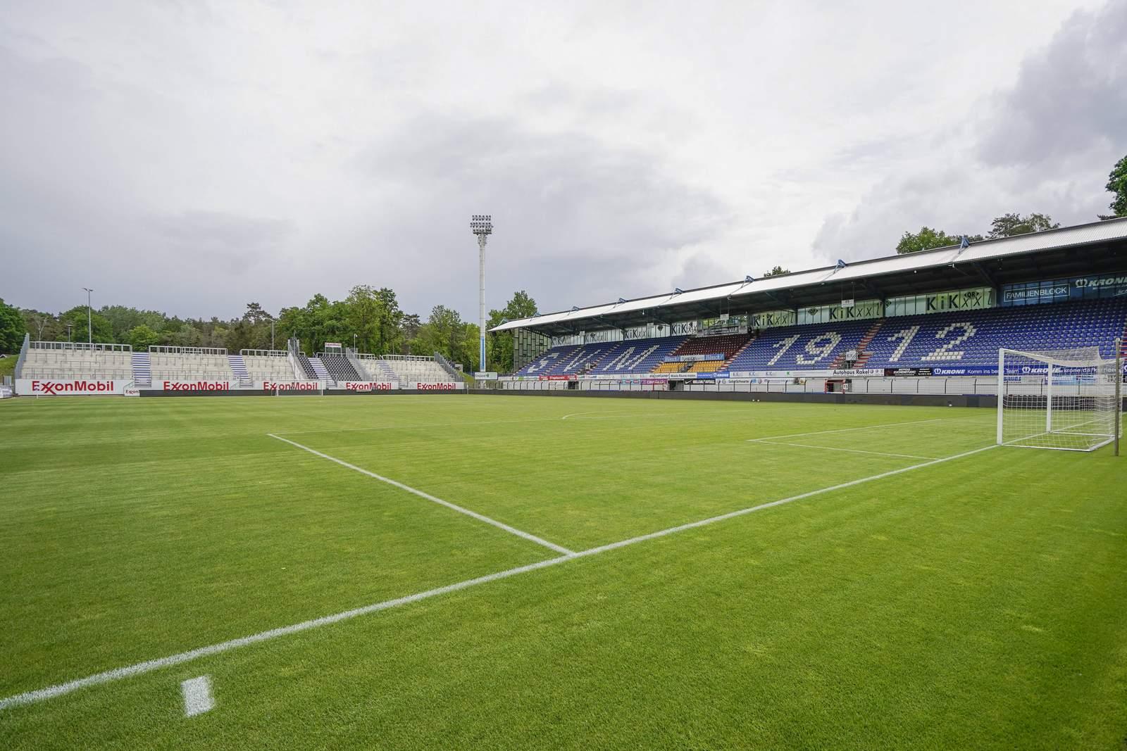 Die Hänsch Arena in Meppen