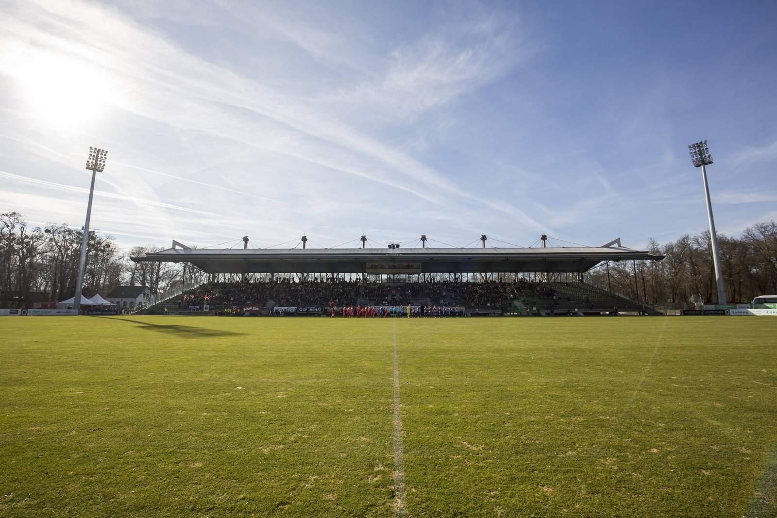 Stadion von Viktoria Köln
